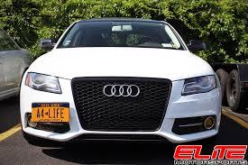 audi rs4 grille rs4 grille elite motorsports