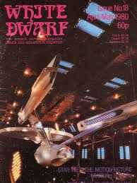 white dwarf scotty star trek leisure