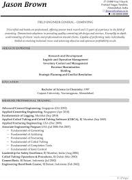 Field Engineer Resume Sample by Construction Resume Examples Resume Professional Writers