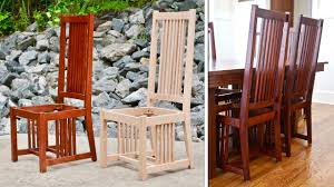 mission style dining chair how to build part 1 arts and crafts