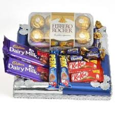 same day chocolate delivery online chocolates mumbai shop chocolate thali
