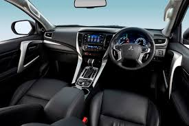 2015 mitsubishi outlander interior mitsubishi pajero sport a new look for an old challenger road
