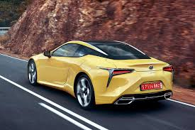 lexus yellow 2017 lexus lc 500 sport review autocar