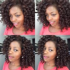 flexi rod stretch long 4b c hair sexy voluminous curl with flexi rods curly nikki natural hair