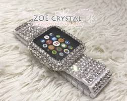 rhinestone bands world of crystals and pearls by zoeblingworld on etsy