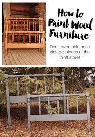 How To Paint Wood Furniture by Painting Wood Furniture Fresh Crush
