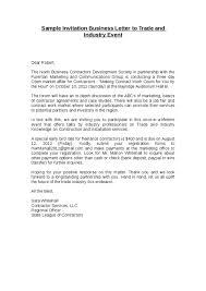 doc 25503300 business invitation letter u2013 writing an invitation