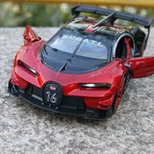 bugatti concept car bugatti model cars vision gran turismo concept 1 32 alloy diecast