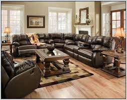 Used Reclining Sofa Sectional Used Leather Recliner Sofas For Sale Flynn Black