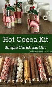 hot chocolate gift ideas simple christmas gift hot cocoa kit diy christmas christmas