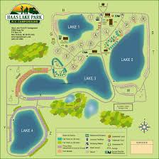 Howell Michigan Map by Haas Lake Park Rv Campground