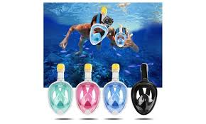 the best black friday deals on snorkeling equipment dry dive full face snorkel mask groupon