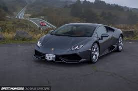 grey lamborghini huracan the ultimate test hakone turnpike vs lamborghini huracán