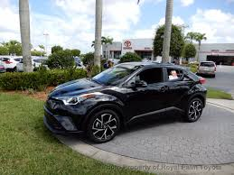 2018 toyota c hr will 2018 new toyota c hr xle premium fwd at royal palm toyota serving