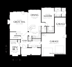 Farmhouse Style Floor Plans by Mascord House Plan 22146a The Dellwood