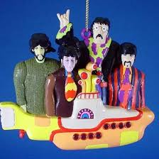 beatles ornament the beatles on the yellow submarine beatles fab