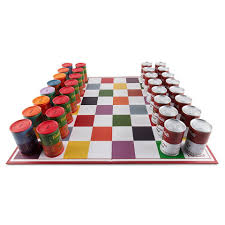 Cool Chess Pieces This Chess Set U0027s Pieces Are Replicas Of Warhol U0027s Campbell U0027s Soup Cans