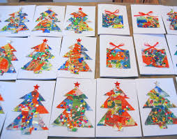 christmas card crafts for kids before there was pinterest