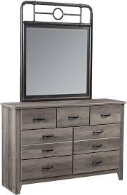 Metal Bedroom Dresser Standard Furniture Barnett Distressed Pine Youth Metal Bedroom Set