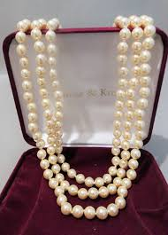 pearl necklace box images Camrose kross jackie bouvier kennedy 3 strand pearl necklace jpg