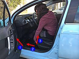 reglage siege auto être bien assis code de la route 7 prendre et quitter