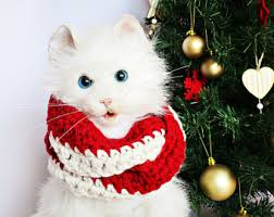 pet christmas pet costume dog christmas scarf for cat pet christmas