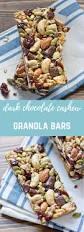 The Best Protein Bars Orlando Dietitian Nutritionist by Tart Cherry Dark Chocolate U0026 Cashew Granola Bars Gluten Free