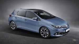 toyota a toyota auris gets a minor facelift