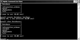 cara membuat database baru mysql membuat database dan tabel dengan mysql learn more about it together