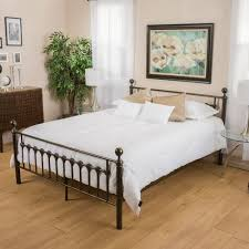 Iron King Bed Frame Branson Brown Iron King Bed Pier 1 Imports