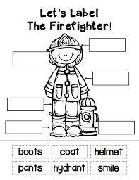 community helpers firefighter children u0027s crafts pinterest