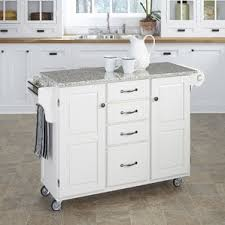 granite top kitchen island granite kitchen islands carts you ll wayfair