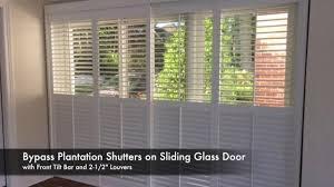 6 sliding glass door asap blinds job of the week 6 1 17 plantation shutters sliding