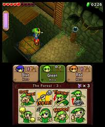 the legend of zelda tri force heroes is a game of dress up co op