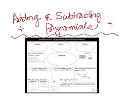 showme distributing polynomials