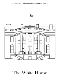 the whitehouse colouring pages with white house coloring sheet