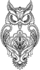 complicated coloring pages for adults the 25 best owl coloring pages ideas on pinterest owl printable