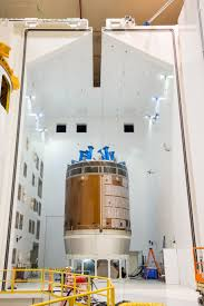 exercise device for orion to pack powerful punch nasa nasa blasts orion service module with giant horns