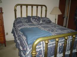 Richmond Bed Frame What S It Worth Brass Bed Silver Spoons Home And Gardens