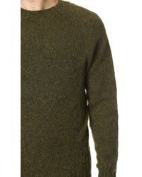 howlin u0027 by morrison birth of the cool sweater in green for men lyst