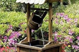 Wishing Well Garden Decor 11 Wooden Outdoor Decor Winter Country 50 Fabulous Outdoor