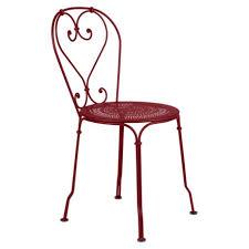 chaises fermob chaise 1900 fermob structure acier forgé à la