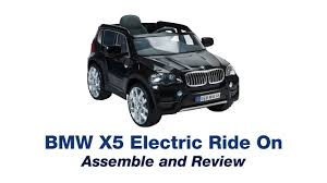 bmw x5 electric car bmw x5 electric car ride on review and assemble and