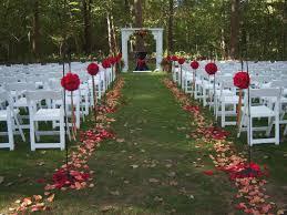 wedding aisle decor unique outdoor wedding aisle decor icets info