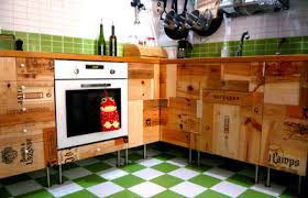 cassette vino r3project kitchen cupboards made from recycled wine boxes