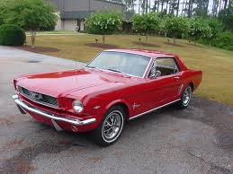 Pink And Black Mustang 1965 Candy Apple Red Mustang I Almost Bought This Car But Couldn