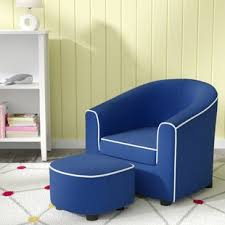 navy blue chair and ottoman navy blue chair with ottoman wayfair