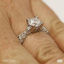 tacori crescent engagement ring tacori classic crescent 2578 rd twist engagement ring 2507