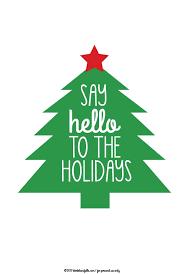 hello christmas tree free christmas tree plaid printables say hello to the holidays