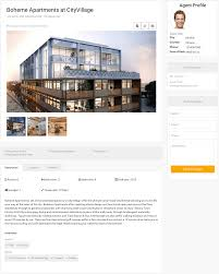 frontend view in real estate manager real estate website solution